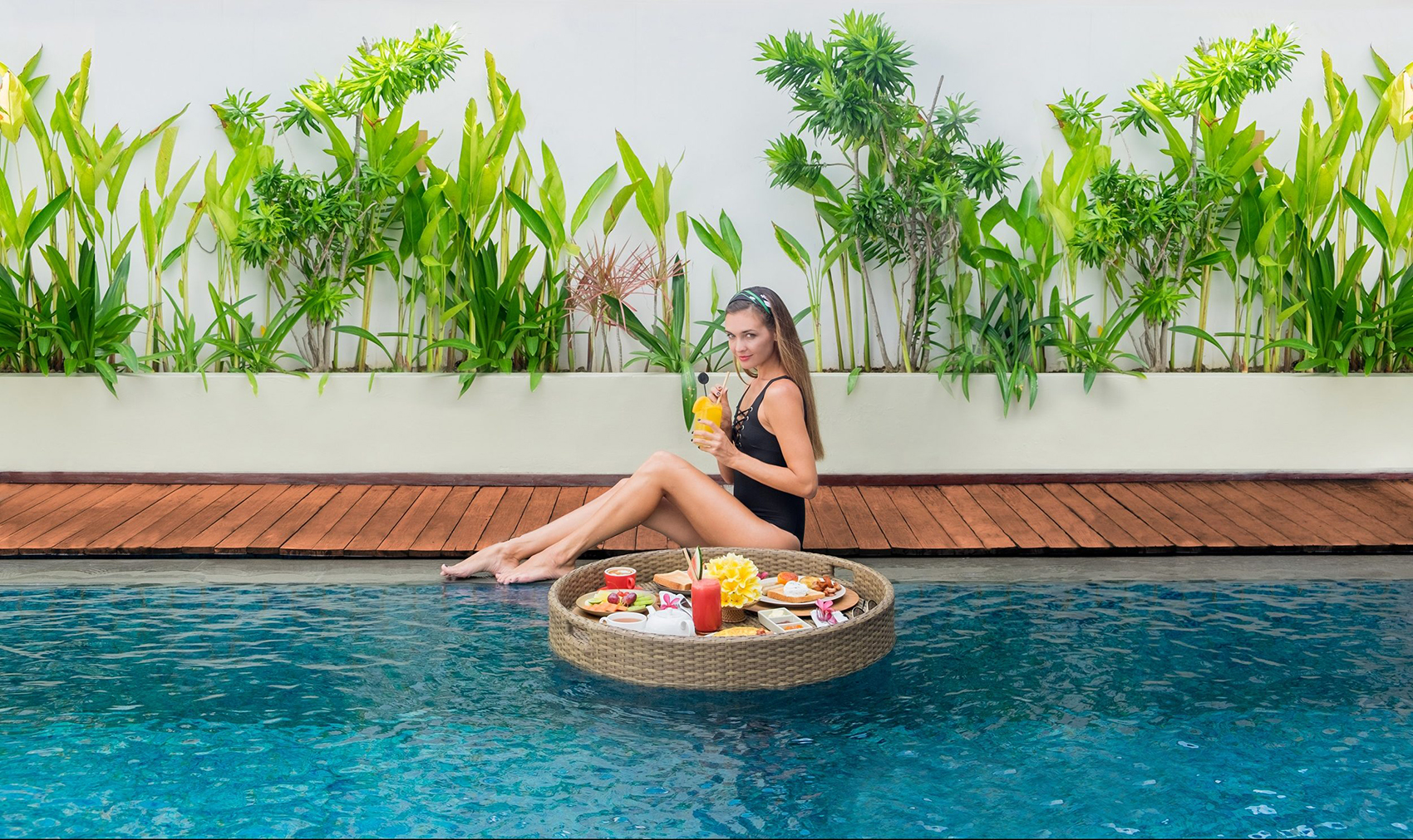 Free floating breakfast when you stay at Royal Suite at The Bandha Legian Bali